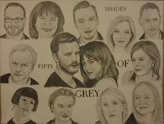 Team fifty shades...dakota johnson, jamie dornan, EL.James....