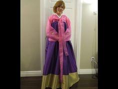 How to Make a Korean Hanbok Chima Skirt