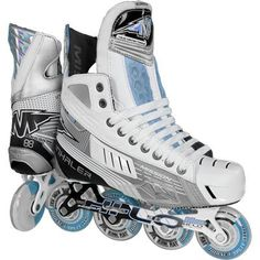 These would be cool! Air Max Sneakers, High Top Sneakers, Sneakers Nike, Inline Hockey, Hockey Gear, Converse Chuck Taylor, Cleats, Nike Air Max, Skates