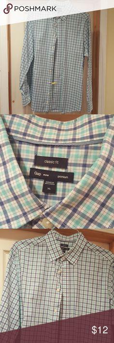 Gap Premium Summer shirt! 9.5/10 Already pressed!! Light weight shirt! GAP Shirts Casual Button Down Shirts