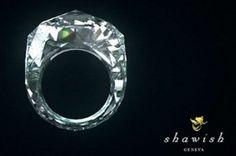 All diamond diamond ring