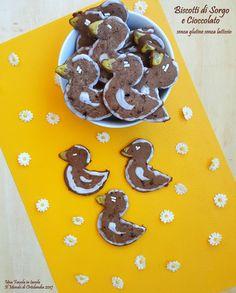 Biscotti di Sorgo e cioccolato #senzaglutine #senzalattosio