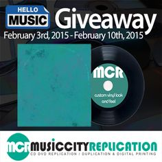 Enter Hello Music's giveaway to #win #free CD replication for your next DIY #album www.hellomusic.com