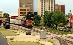 Modern HO layout based in Central Texas from Summit CustomCuts
