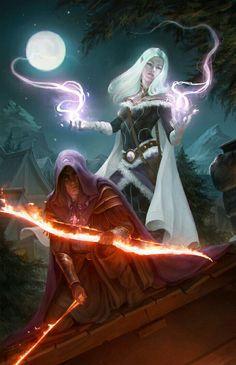 Ranger Sorcerer Combo - Pathfinder PFRPG DND D&D d20 fantasy