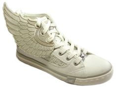 Sneaker Trend, Chucks with Wings im Paillettenshop