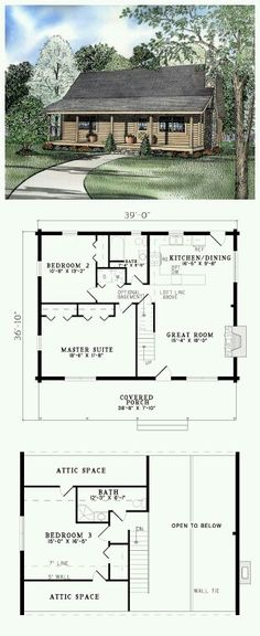 **take Out Bathroom Upstairs **add Bathroom To Master Suite Log Home Plans