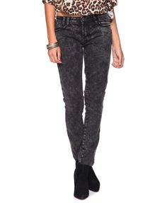 Washed Out Skinny Jeans  $24.80