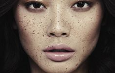 'Speckled' - Alice Ma by Alex Evans for V Magazine Glossy eyes and lips Beauty Fotos, Beauty Make-up, Beauty Shoot, Asian Beauty, Beauty Hacks, Hair Beauty, Bridal Beauty, Beauty Skin, V Magazine