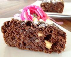 gâteau au chocolat et tofu soyeux, moelleux et léger