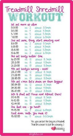 Blogilates treadmill workout
