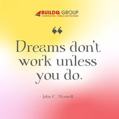 Happy Monday! Here's a reminder that today's another day closer to achieving your dream if you'll persevere. #homesweethome #homebuilder #homehunters #BuildQGroup #qualityhomes #homeowners #motivationalmondays Happy Monday, Home Builders, Dreaming Of You, Sweet Home, Motivation, House Beautiful, Inspiration