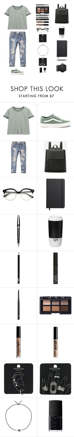 """""""Ever Since New York - Harry Styles"""" by musicsavedme1313 ❤ liked on Polyvore featuring Chicnova Fashion, Vans, Abercrombie & Fitch, Shinola, Montblanc, ROOM COPENHAGEN, NARS Cosmetics, NYX, Topshop and Ternary London"""