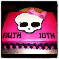 Children's Birthday Cakes - Monster High