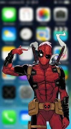 Deadpool Wallpaper, Avengers Wallpaper, Cartoon Wallpaper, Deadpool Et Spiderman, Deadpool Funny, Deadpool Quotes, Deadpool Costume, Deadpool Movie, Marvel Art