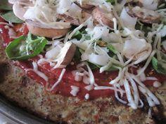 A Love Affair With Eyeliner Blog: Health & Nutrition: Cauliflower Pizza Crust Via Pinterest