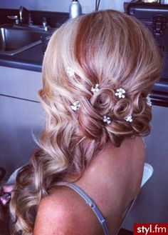 wedding hair ❤ evening hair ❤ night out hair ❤ prom hair ❤ Night Out Hairstyles, Evening Hairstyles, Fancy Hairstyles, Wedding Hairstyles, Beautiful Hairstyles, Wedding Hair And Makeup, Bridal Hair, Hair Makeup, Hair Styles 2014