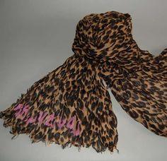 dream scarf ever! Louis Vuitton Leopard scarf.