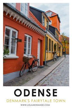 A visual guide to exploring Odense, Denmark's fairytale town. Characterized by quaint houses and colorful cafes, Odense has brought fantasy to real life. Best things to do, see and eat in this charming European city. | Geotraveler's Niche Travel Blog #Ode