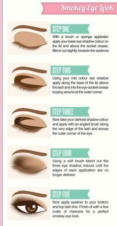 Smokey Eye Look eye shadow how to diy makeup eye makeup eye liner makeup tutorials eye makeup tutorials