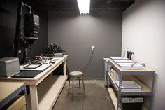 Home darkroom.