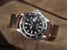 B&S W-59 Rolex 1680 Red ft 1970 10