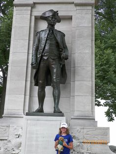 John Paul Jones was the US's first naval hero and father of the US Navy. His memorial is at the National Mall.