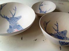 Deer bowls. Jasmin Dwyer