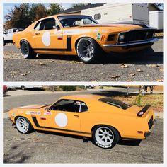 GasKings LLC Ford Mustang 1969, Mustang Cars, Car Ford, Old Race Cars, Us Cars, Mercury Capri, Vintage Mustang, Classic Mustang, Pony Car