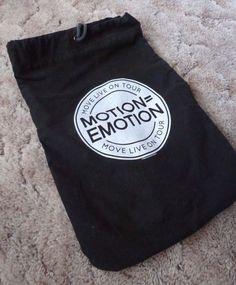 Motion = Emotion Move Live on Tour ft. Julianne & Derek Hough Backpack
