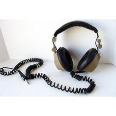 Vintage 1970s Radio Shack Realistic Nova 40 Stereo Headset d4c9a3934