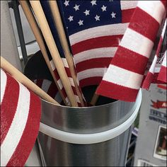 Patriotic Flag Zip-Tie Quiver on Gridwall Cable Tie, Quiver, Flag, Retail, Zip, Science, Retail Merchandising, Flags