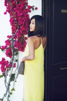 {Gary Pepper} simple yellow dress