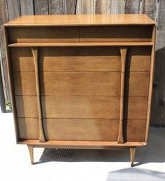 Los Angeles: Mid Century Modern High Boy Dresser $350 - http://furnishlyst.com/listings/179679