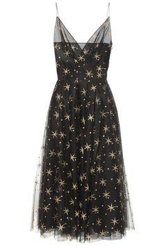 Black star dress
