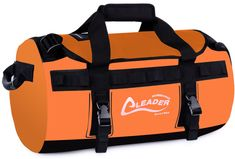 Canoe Camping Gear ** Leader Accessories Deluxe Water Resistant PVC Tarpaulin Duffel Bag Backpack Orange -- Read more testimonials of the product by checking out the web link on the photo. (This is an affiliate link). Canoe Camping, Camping Gear, Duffel Bag, Backpack Bags, Canoe Accessories, Orange Backpacks, Tarpaulin, Bag Making, Gym Bag