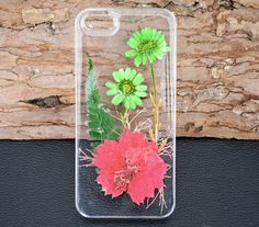 Pressed flower iPhone 6 CaseReal flower iPhone by UUniquecase