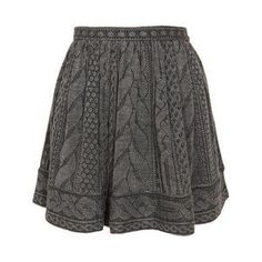 See this and similar Opening Ceremony mini skirts - Grey wool-blend cable knit mini-skirt by Opening Ceremony . Concealed side zip with hook and eye closure. Crochet Skirts, Knit Skirt, Knit Dress, Knit Crochet, Sweater Skirt, Gray Sweater, Grey Mini Skirt, Mini Skirts, Gray Skirt