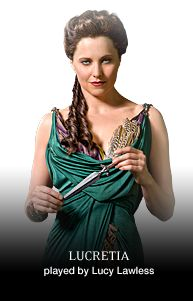 I love Spartacus.  I love Lucy Lawless.  I love Xena.  It was sad  Andy Whitfield died