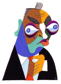Rodney Dangerfield by David Cowles.  He's another one I could pin everything he ever did.
