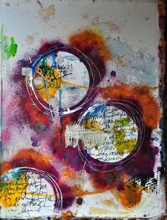 art journal dina wakely