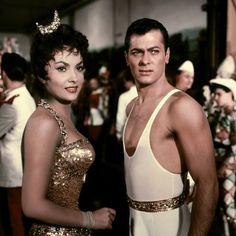 Gina Lollobrigida & Tony Curtis Trapeze (1956).