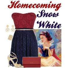 """Homecoming Snow White"" by alyssa-eatinger on Polyvore"