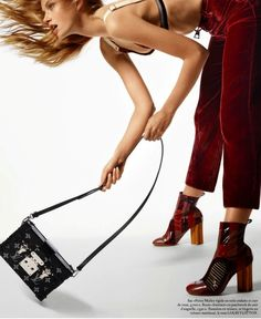 "Vogue Paris February 2015 | ""It's Vogue"" by Cuneyt Akeroglu - Louis Vuitton"