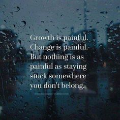 Growing pains...