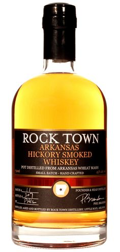 Hickory Smoked Whiskey | Rock Town Distillery