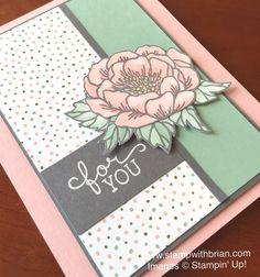 Birthday Blooms, Birthday Bouquet Designer Series Paper, Stampin' Up!, Brian King