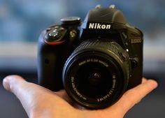 Nikon-D3300-DSLR-camera-size