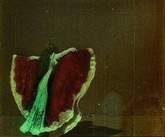 Film still from Danse du Papillon (1900) directed by Alice Guy-Blache. #film