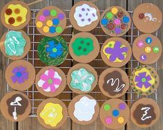 cardboard cookies w/craft foam! by ashleyw